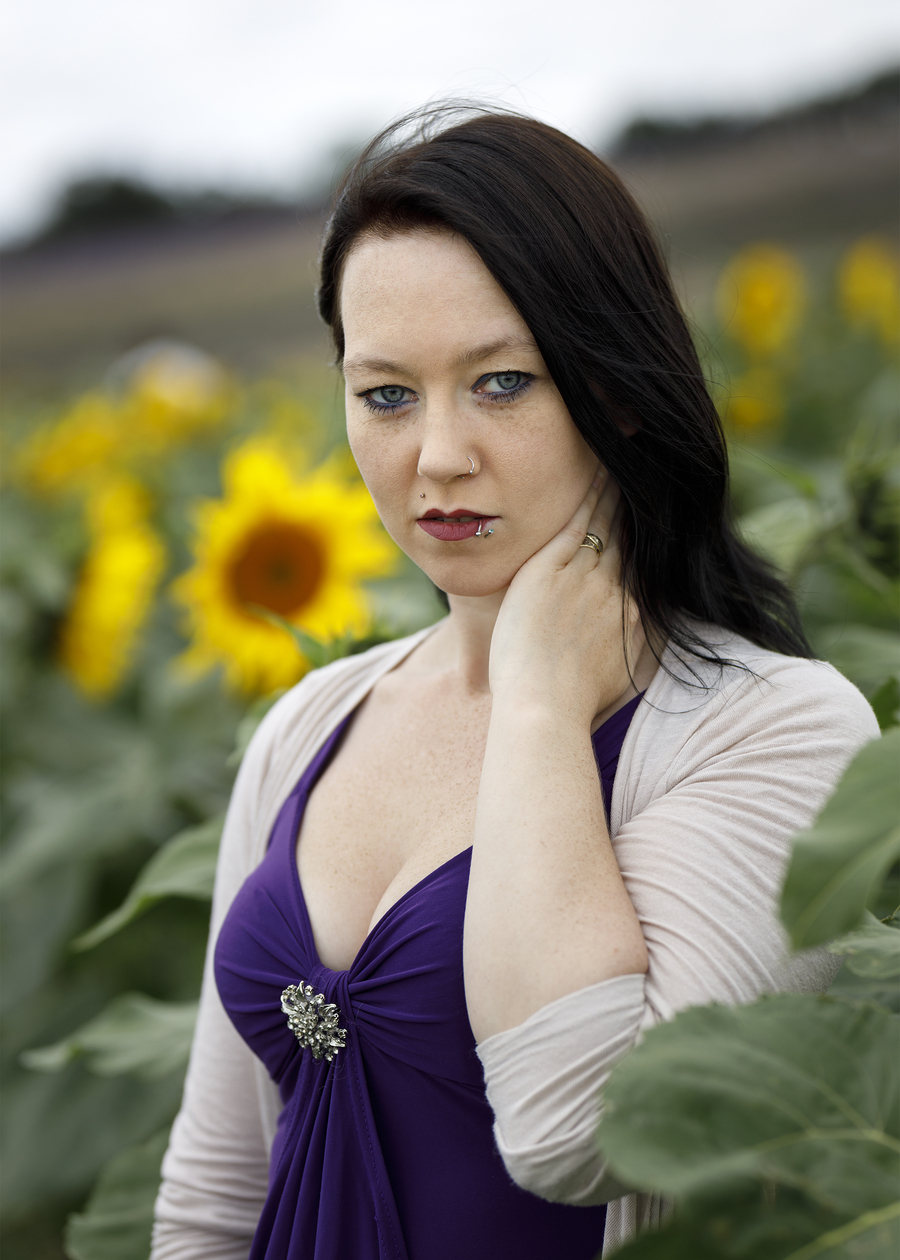 Sunflowers / Photography by AweFull Photos, Model -Natalie- / Uploaded 28th August 2021 @ 12:20 PM