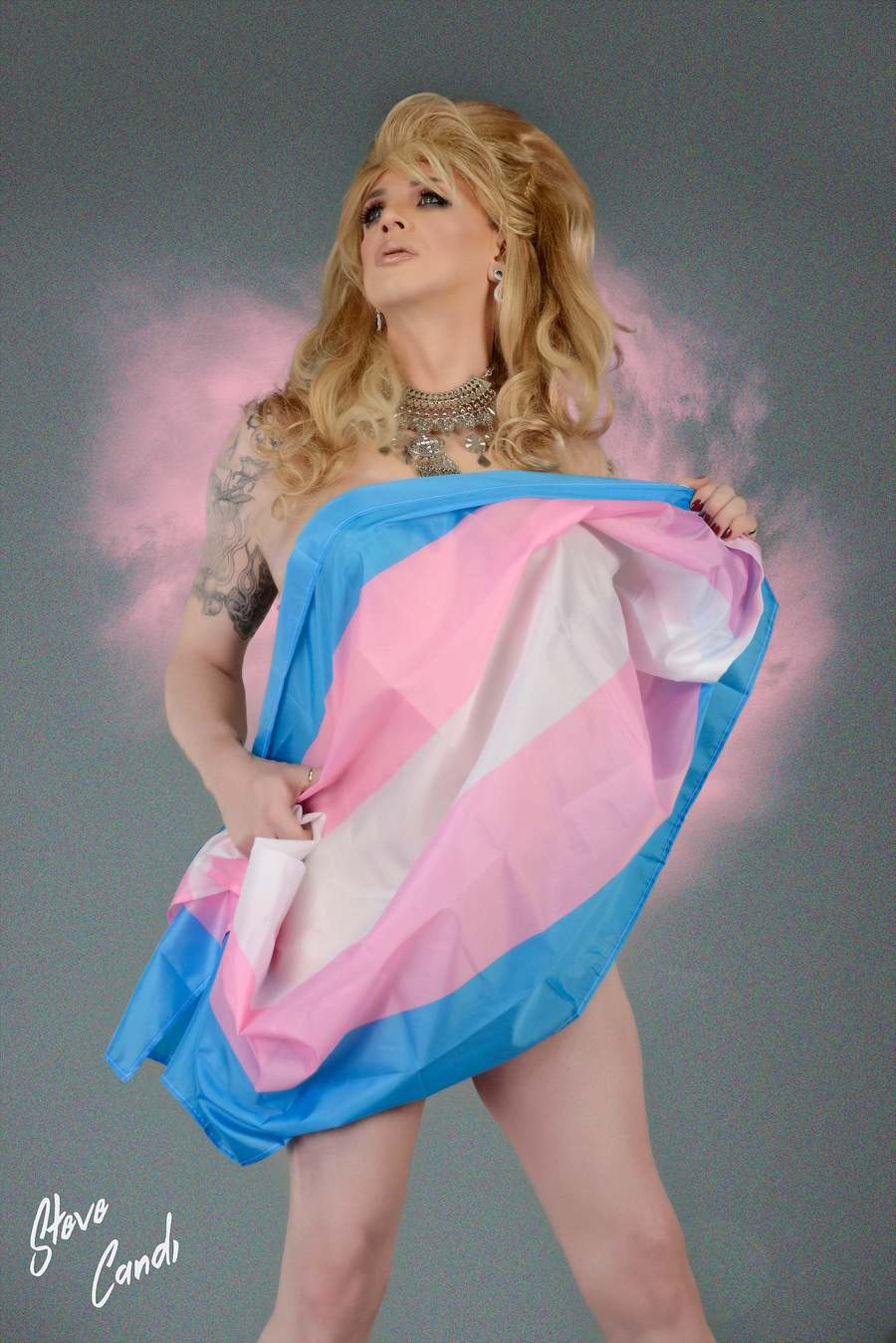 Trans & Proud / Photography by Steve Candi1, Model Louise Honey / Uploaded 11th May 2019 @ 02:58 PM