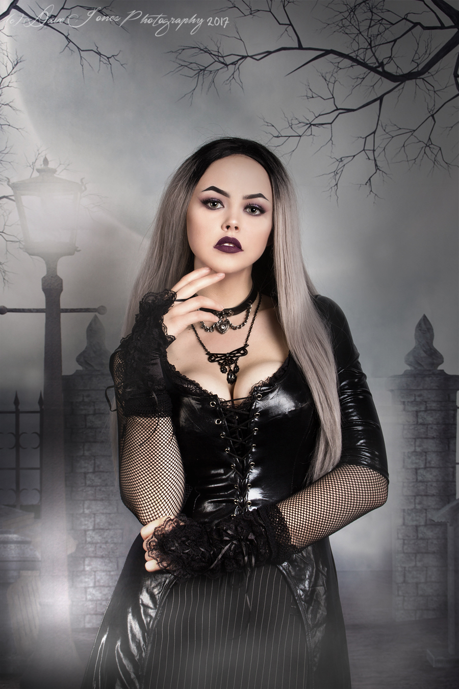 GothBaby / Photography by Dave Jones Photography, Model GothBaby, Taken at Hope Photographic / Uploaded 1st July 2017 @ 04:38 PM