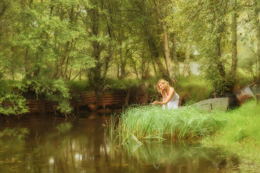 Still Summer / Photography by John McNairn, Model ❀ Chiara Toulouki Elisabetta / Uploaded 5th November 2016 @ 02:58 PM