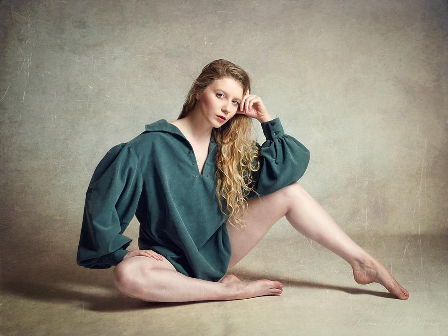 Lulu in Green / Photography by John McNairn, Model Lulu Lockhart / Uploaded 10th April 2017 @ 02:54 PM