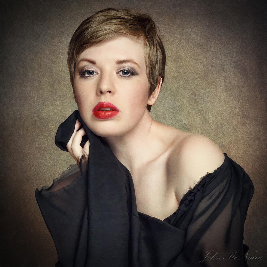 Portrait of Helen / Photography by John McNairn, Model Helen Stephens / Uploaded 22nd April 2017 @ 05:02 PM