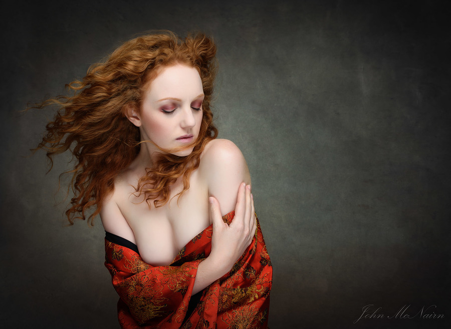 Hold Against the Wind / Photography by John McNairn, Model Ivory Flame, Post processing by John McNairn / Uploaded 6th January 2019 @ 10:46 PM