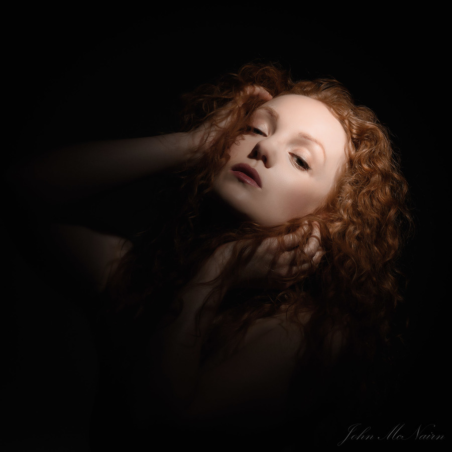 Alpenglow / Photography by John McNairn, Model Ivory Flame, Post processing by John McNairn / Uploaded 21st February 2019 @ 10:06 PM