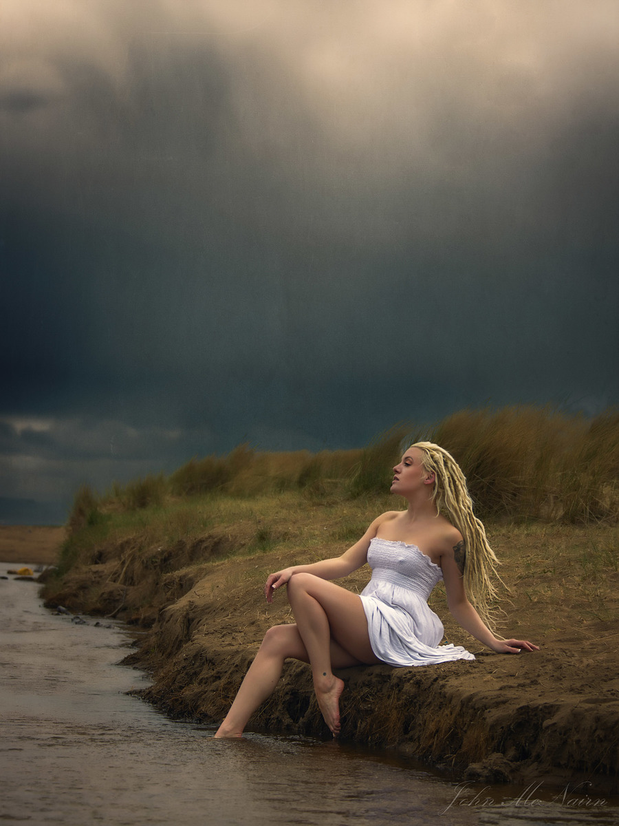 Storm Watcher / Photography by John McNairn, Model Elle Black, Post processing by John McNairn / Uploaded 9th April 2019 @ 06:13 PM