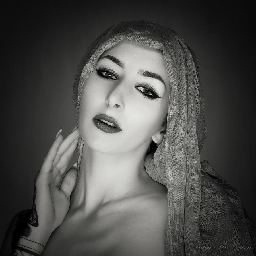 Silence the Heavens / Photography by John McNairn, Model KatyB (Katex), Post processing by John McNairn / Uploaded 27th July 2019 @ 01:30 PM