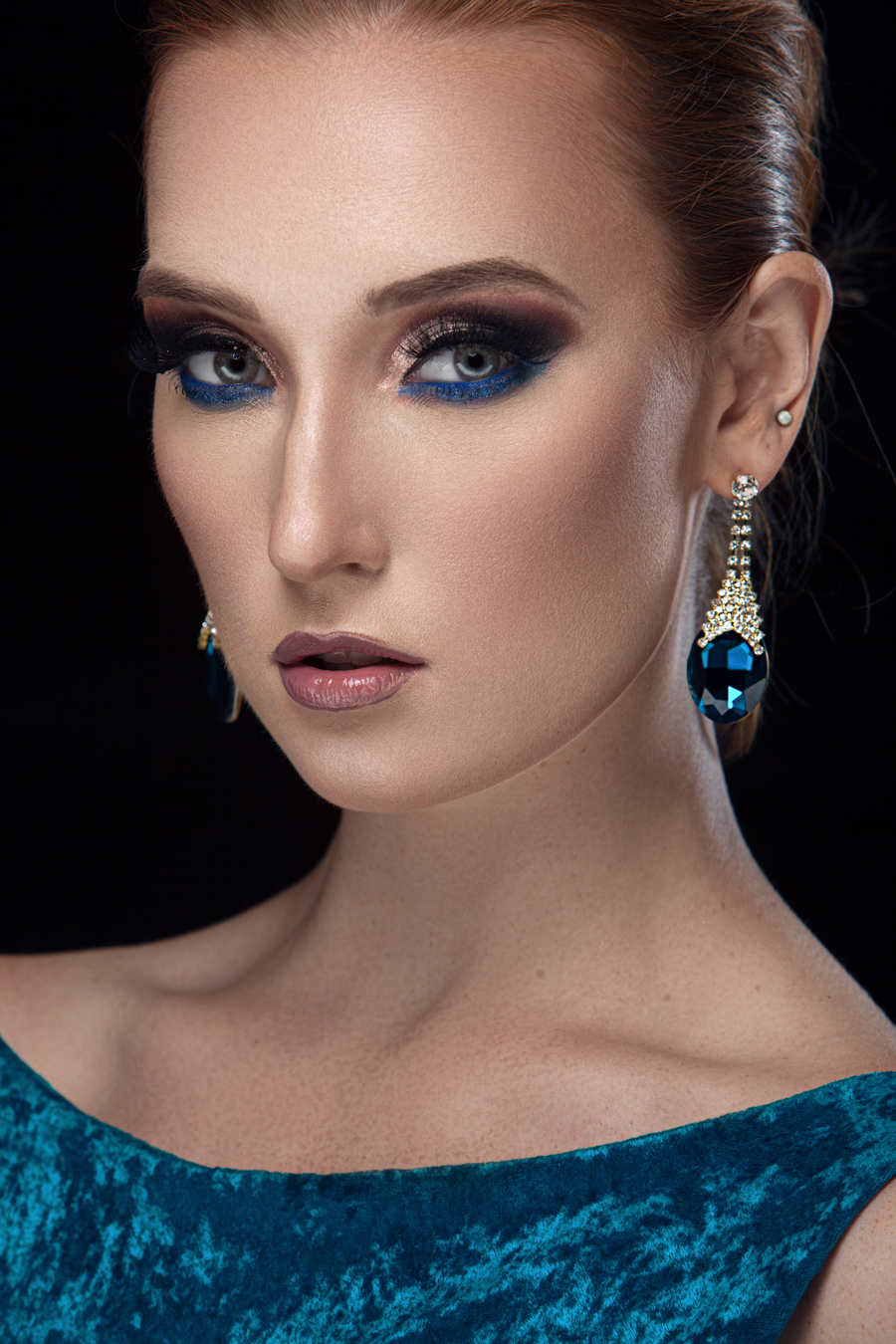 Blue Glamour Retouch / Post processing by Claire Rees Design / Uploaded 17th September 2019 @ 02:08 PM