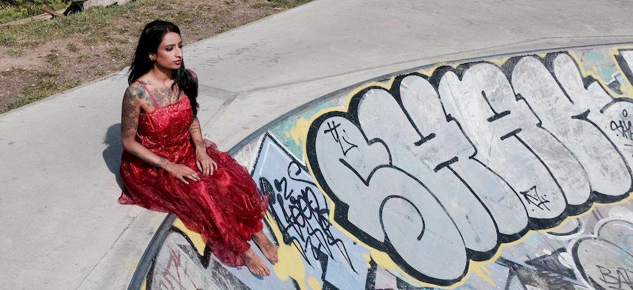 Skate Park / Photography by BobtheDriver, Model Savannah J Sapphire / Uploaded 3rd May 2017 @ 09:54 AM