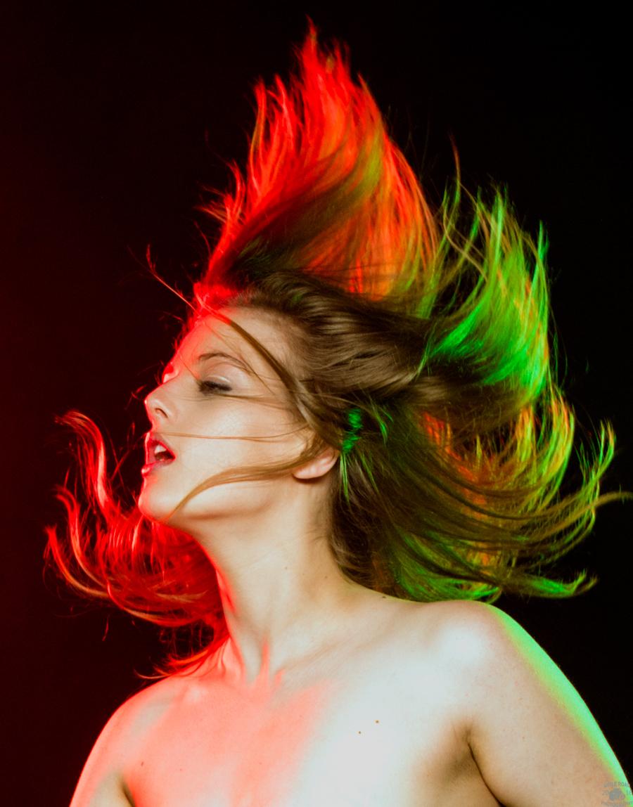 A Hair Raising Shoot with LottiiRose / Photography by Shile Road Photography, Model LottiiRose, Makeup by LottiiRose, Hair styling by LottiiRose / Uploaded 22nd October 2016 @ 06:22 AM