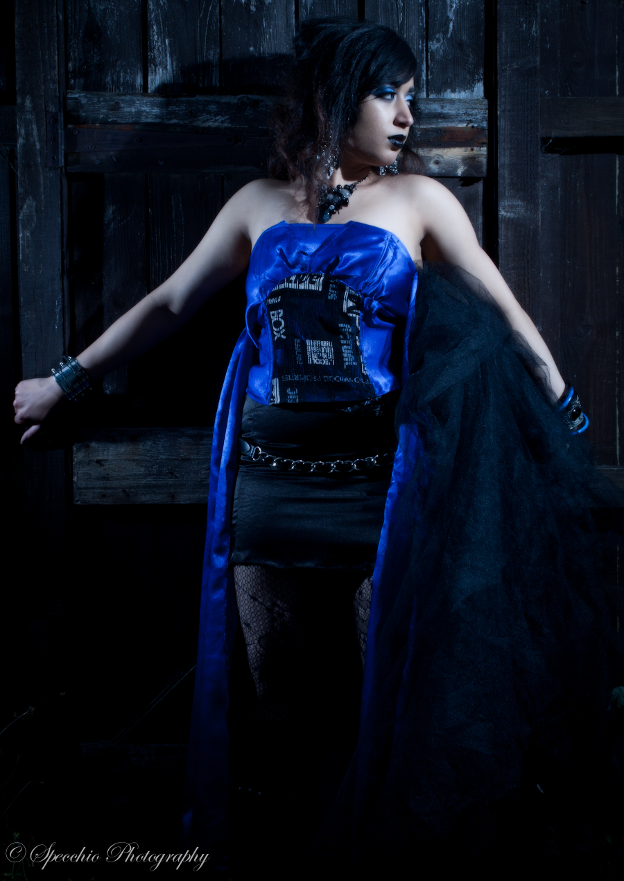 Blue Goth / Photography by Kay Choudri Photography / Uploaded 26th August 2012 @ 06:36 PM