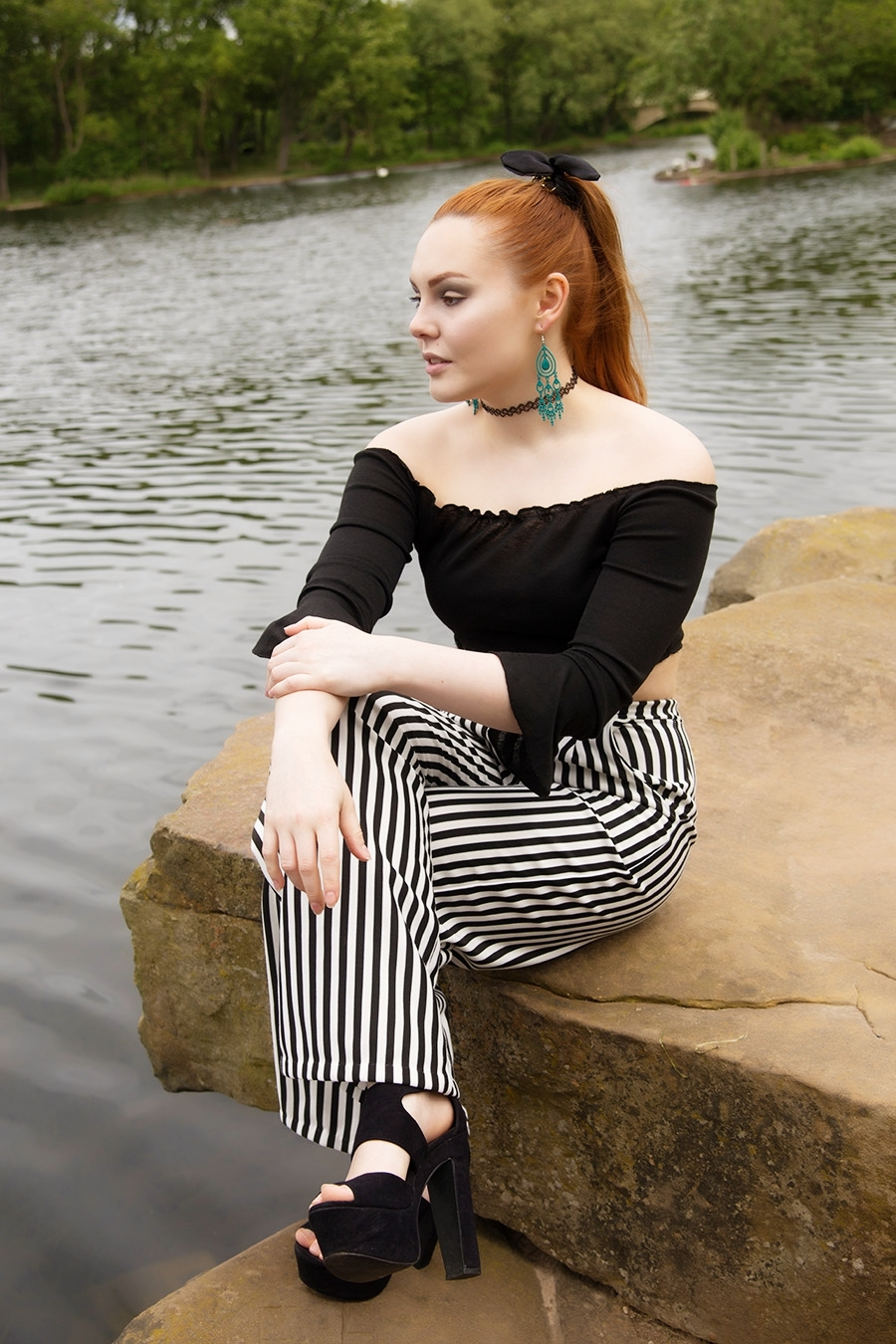 Lake side / Photography by Chris Horgan, Model 'M', Makeup by 'M', Stylist 'M' / Uploaded 2nd June 2019 @ 11:59 PM