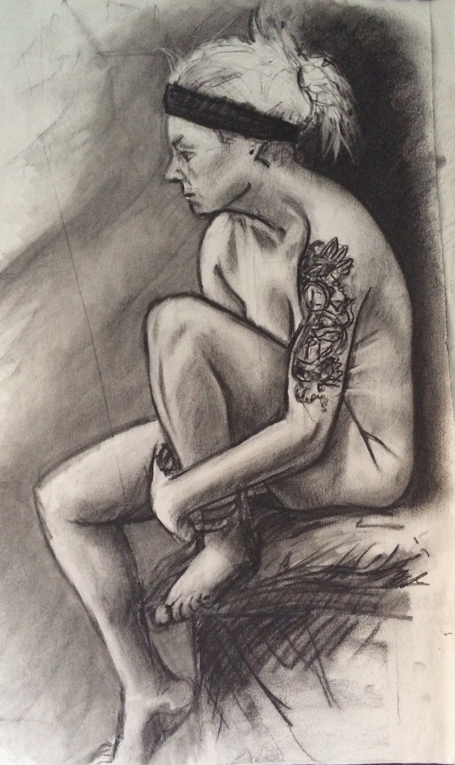 1 hour drawing from life. / Artwork by Ridgmont Life Art / Uploaded 30th January 2016 @ 04:30 PM