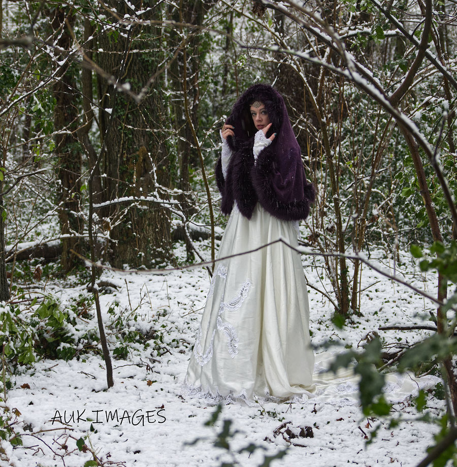The snow queen  / Photography by AUK Images, Model Rhianna Grey / Uploaded 16th January 2021 @ 09:50 AM