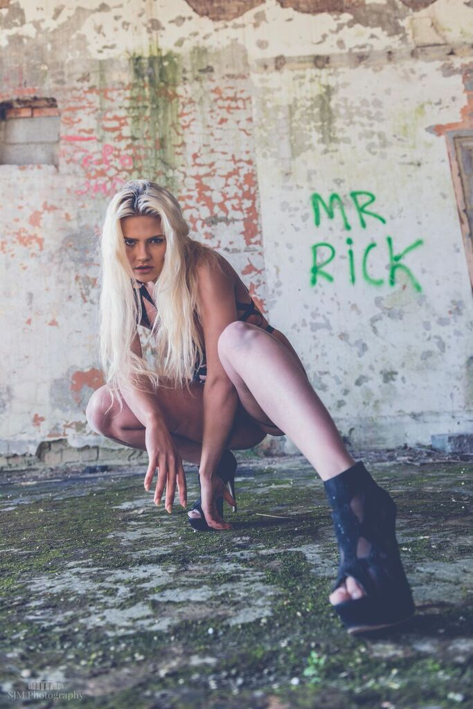 Wanna meet Mr Rick ? / Photography by Simon Morton, Model Aly Sky / Uploaded 4th May 2016 @ 06:36 AM