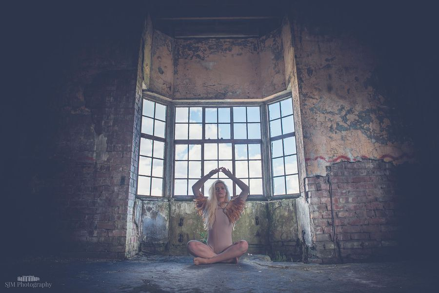 A quiet place to zen / Photography by Simon Morton, Model Aly Sky / Uploaded 9th May 2016 @ 06:58 AM