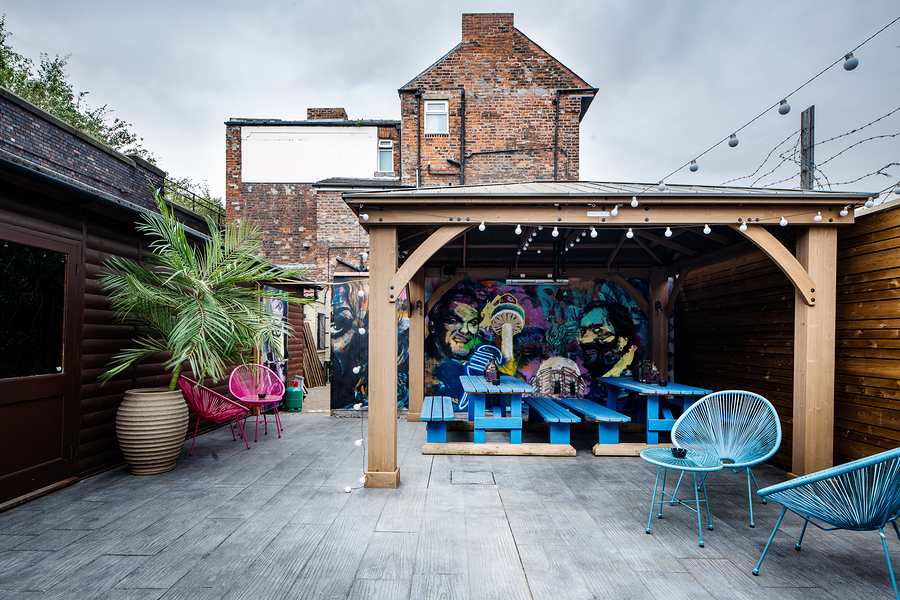 Urban Art Beer Garden / Taken at Drastic Fantastic Studio Dungeons / Uploaded 10th May 2020 @ 10:25 PM