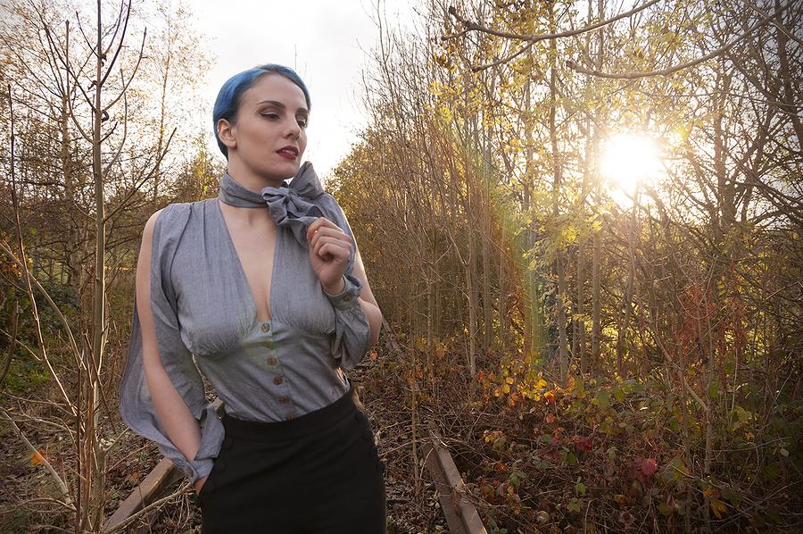 Mina at Sunset / Photography by Dag Nammett, Model Mina Von Vixen / Uploaded 28th December 2019 @ 08:54 PM