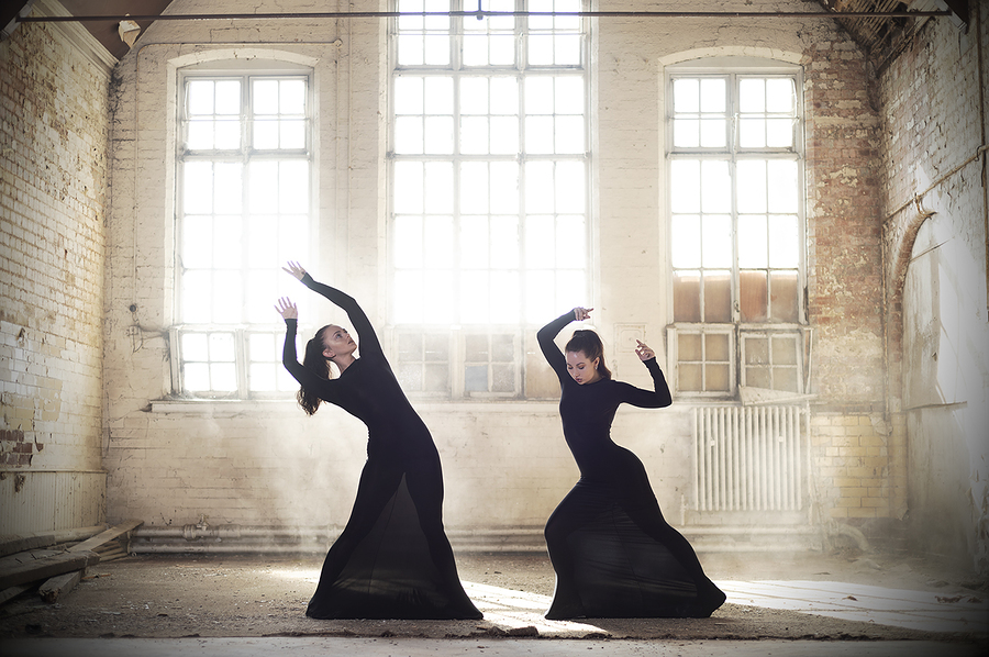 Black Dress Series - Shapes / Photography by Dag Nammett, Models Nico Dee, Models Rachyy / Uploaded 10th May 2020 @ 07:22 PM