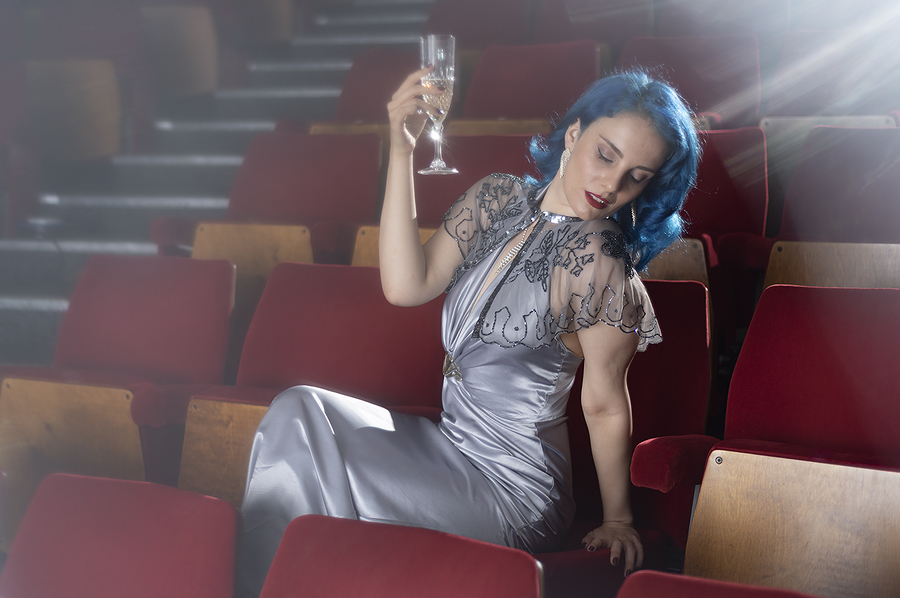 Sophistication / Photography by Dag Nammett, Model Mina Von Vixen / Uploaded 21st February 2021 @ 09:43 AM