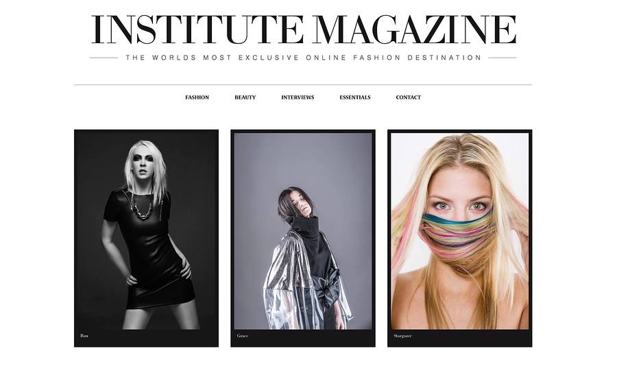 Fashion images with Vic Chowhan published in Institute Magazine today! / Model Daisy Bright, Makeup by DaisyBrightMakeUp, Stylist DaisyBrightMakeUp, Hair styling by DaisyBrightMakeUp / Uploaded 16th January 2016 @ 05:47 PM