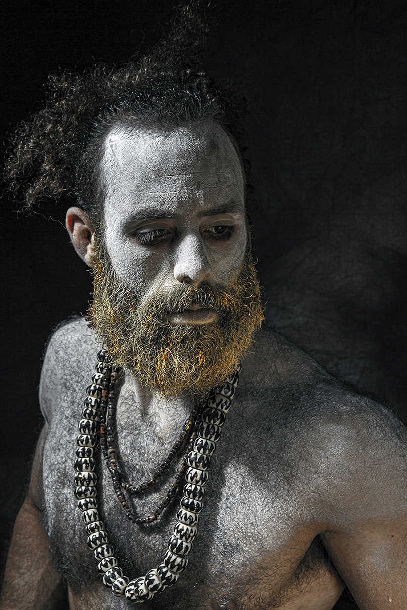 """"""" Sadhu """" / Model Ali Moore, Makeup by DaisyBrightMakeUp / Uploaded 15th August 2019 @ 09:41 PM"""