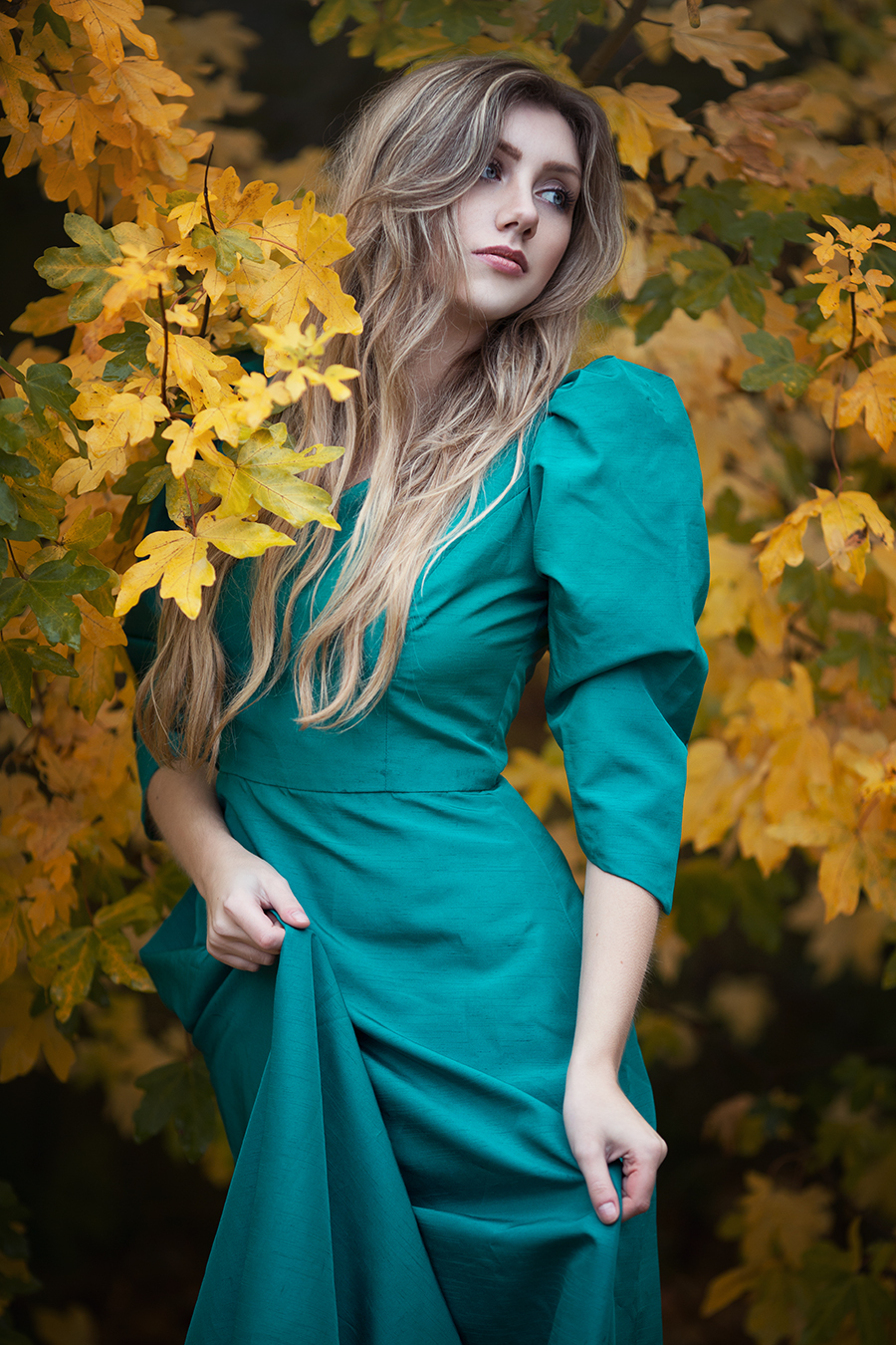 Autumn Rain - Miss Hyde - 2016 / Photography by Anjelica Hyde, Model Shannon Thorne / Uploaded 4th January 2017 @ 10:15 PM