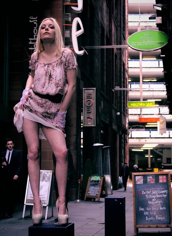 Glasgow Fashion / Model Aurora Violet / Uploaded 23rd April 2015 @ 07:25 PM