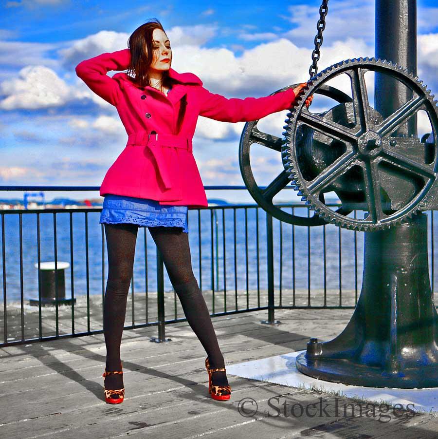 Meet Me Down By The Pier / Model Aurora Violet / Uploaded 17th April 2015 @ 06:21 PM