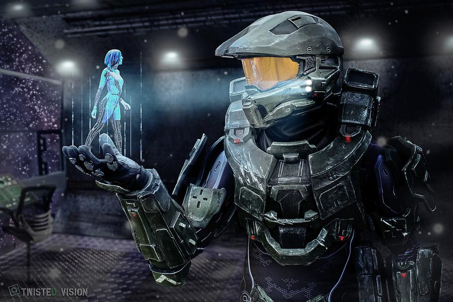 Master Chief and Cortana /  / Uploaded 2nd January 2016 @ 12:32 PM