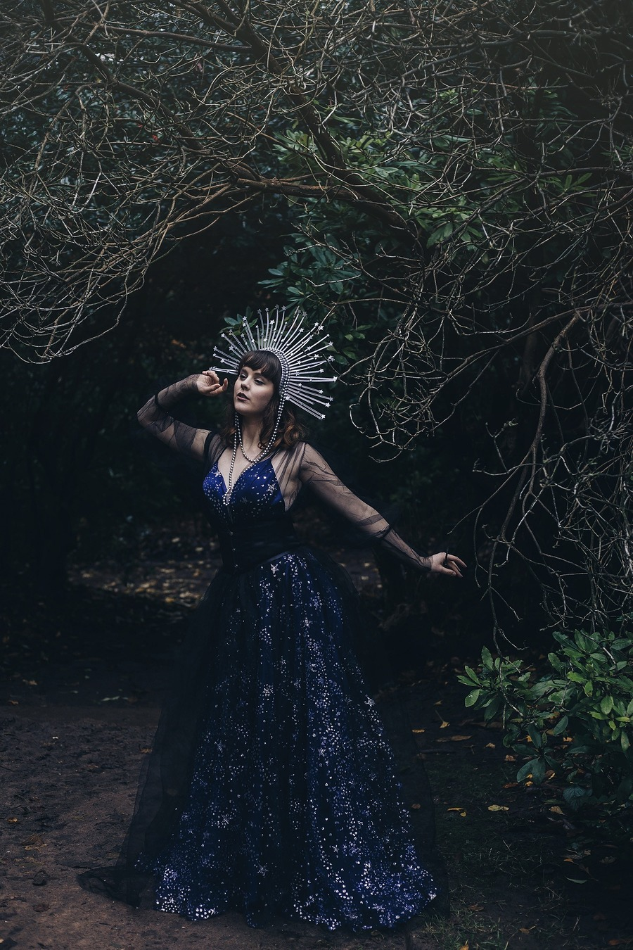 """""""Dwell on the beauty of life. Watch the stars, and see yourself running with them."""" ― Marcus Aurelius, Meditations / Photography by Tabitha Boydell, Model Velvet Fox, Stylist Charliebrown, Stylist Tabitha Boydell - Stylist / Uploaded 25th November 2019 @ 08:55 PM"""