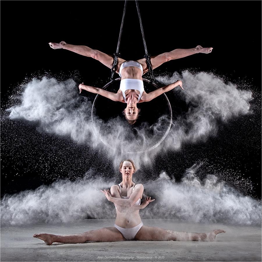 Snow Dance / Photography by Wavepower, Model Velvet Fox, Taken at Natural Light Spaces / Uploaded 10th June 2020 @ 08:11 PM