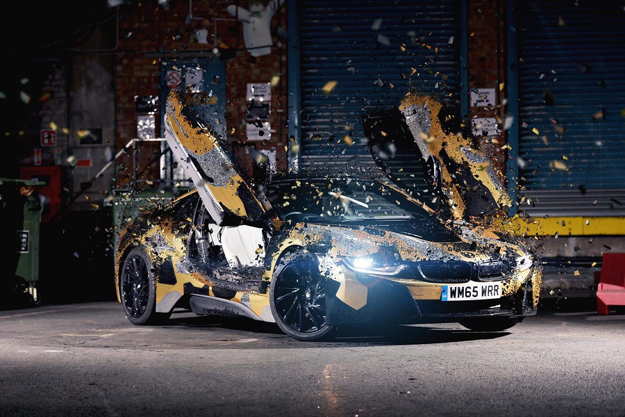 Concept Art For A Magazine Shoot Custom Bmw I8 Photography By