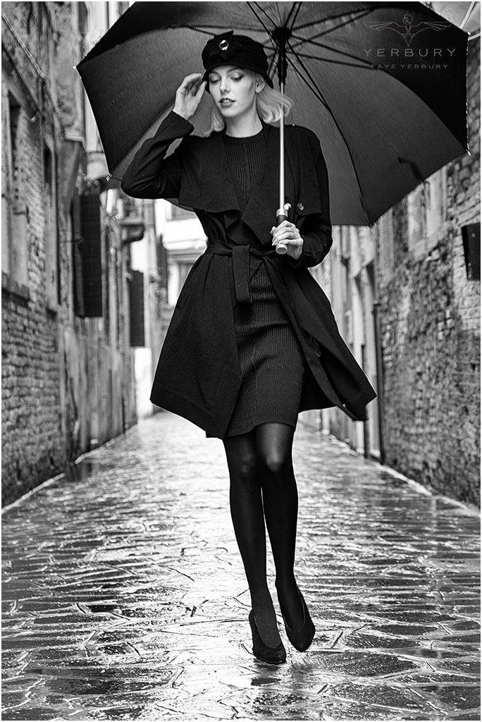 Riona in the rain / Photography by Faye Yerbury, Model Riona Neve, Makeup by Riona Neve, Post processing by Faye Yerbury, Stylist Faye Yerbury, Taken at Faye Yerbury, Hair styling by Faye Yerbury / Uploaded 10th June 2017 @ 07:43 AM