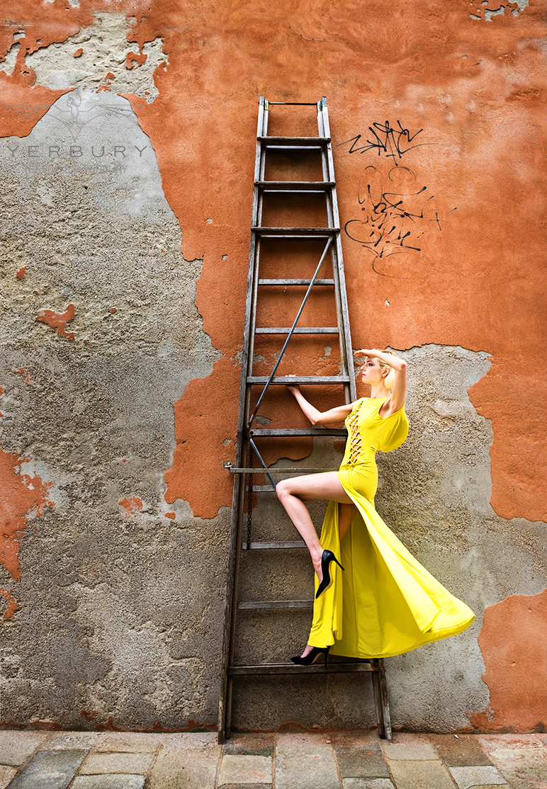 The Ladder / Model Riona Neve, Makeup by Riona Neve, Post processing by Faye Yerbury, Stylist Faye Yerbury, Taken at Faye Yerbury, Hair styling by Faye Yerbury, Designer Faye Yerbury, Assisted by Faye Yerbury / Uploaded 23rd January 2019 @ 07:24 PM