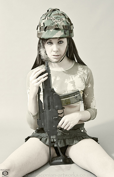 Full Metal Jackoff / Photography by Draconian Artworks / Uploaded 27th September 2012 @ 11:13 AM