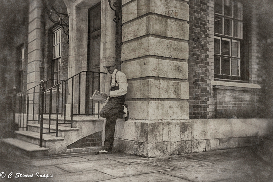 Street Corner. / Photography by BristolArtist, Model Retro Rob / Uploaded 23rd October 2016 @ 09:11 PM