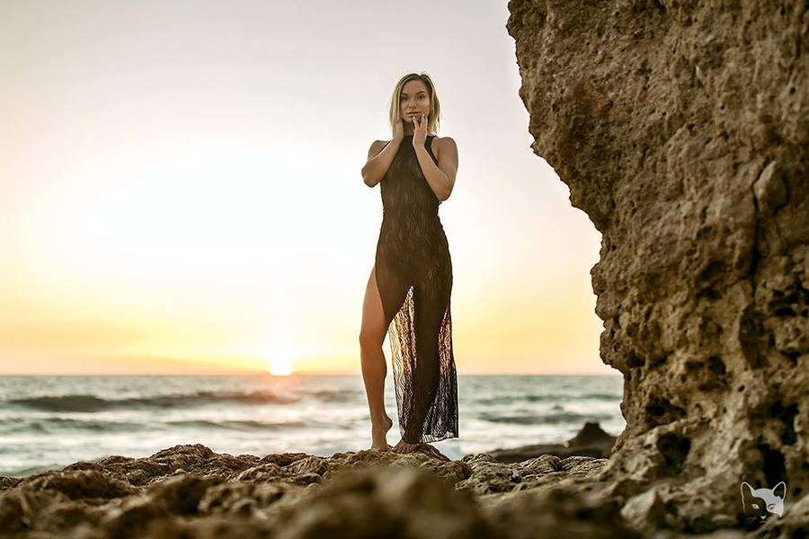 Portugal beach shoot / Photography by Jorge Santos, Model Aurora. / Uploaded 24th October 2017 @ 09:32 PM