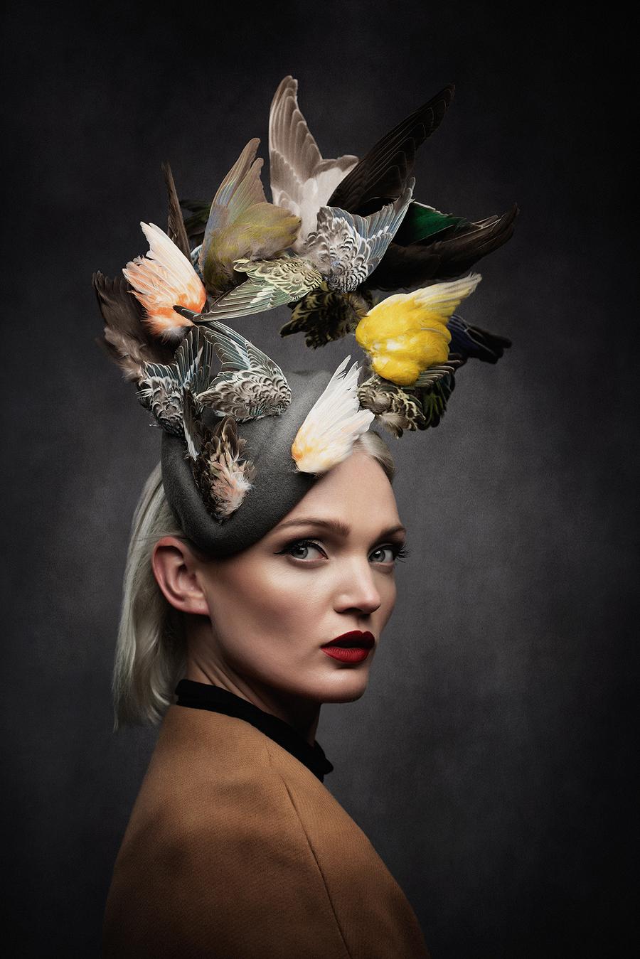 The Birds / Photography by Gazhilla, Model Katie Willy, Post processing by Gazhilla, Stylist Gazhilla / Uploaded 24th September 2020 @ 06:57 PM