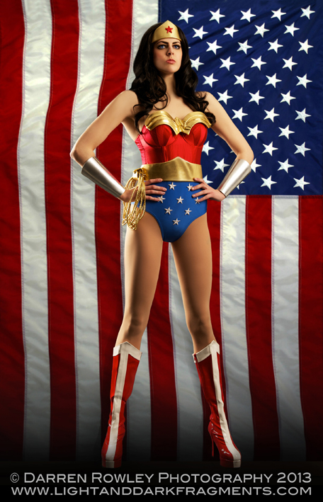 Wonder Woman Cosplay (Emmy Clapp) / Photography by D Rowley Photography, Model Emi Kenton / Uploaded 24th January 2013 @ 07:11 PM