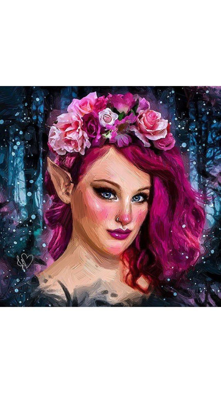 Night elf / Model RosieWraith, Makeup by RosieWraith, Hair styling by RosieWraith / Uploaded 20th July 2017 @ 11:02 AM
