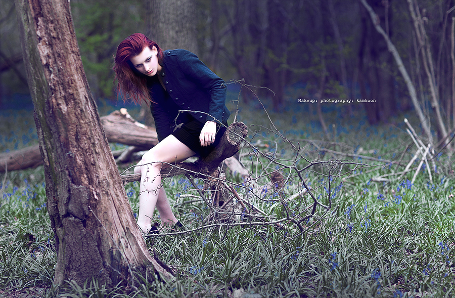 alone in the woods / Model Stef / Uploaded 17th September 2012 @ 09:14 PM