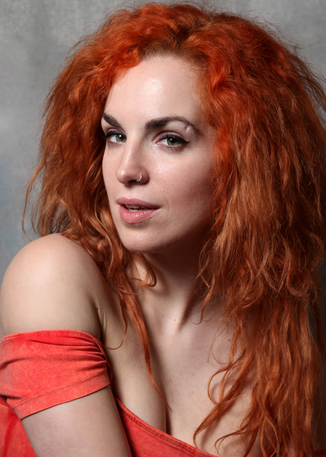 Orange Hair! / Photography by Kippax, Model Tinkerbella / Uploaded 30th March 2016 @ 07:28 PM