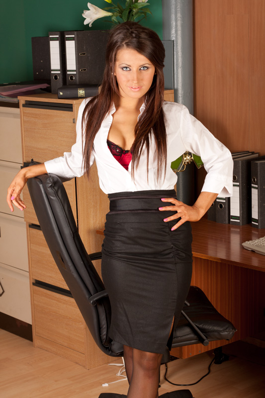 Sexy Secretary / Photography by David Price Photography / Uploaded 20th September 2012 @ 06:20 PM