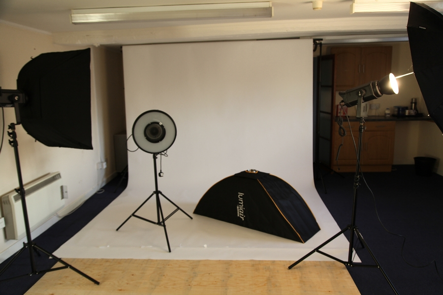 Studio 2, long enough to shoot good full length fashion!