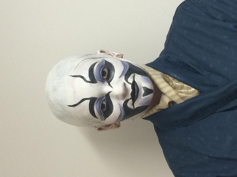 Bald Cap Application, Kabuki Look /  / Uploaded 4th April 2016 @ 07:54 PM