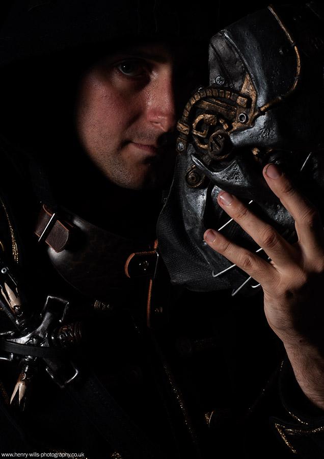Corvo Attono (Dishonoured Cosplay) / Photography by Henry Wills, Taken at Spitfire Studio Swindon / Uploaded 11th September 2014 @ 11:37 AM
