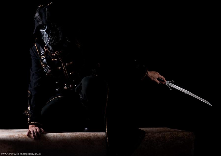 Corvo Attono (Dishonoured Cosplay) / Photography by Henry Wills, Taken at Spitfire Studio Swindon / Uploaded 11th September 2014 @ 11:36 AM