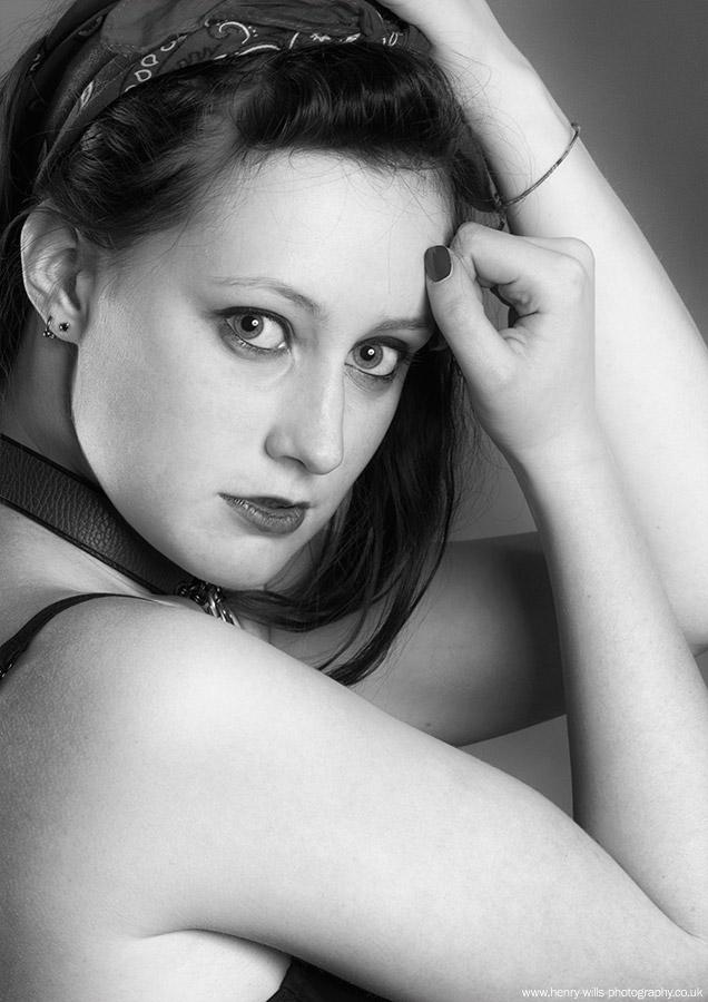 Photography by Henry Wills, Model Aerlise, Taken at Spitfire Studio Swindon / Uploaded 26th June 2016 @ 11:21 AM