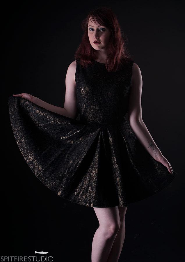 Fashion Lighting / Photography by Henry Wills, Model Aerlise, Taken at Spitfire Studio Swindon / Uploaded 2nd October 2016 @ 10:59 PM