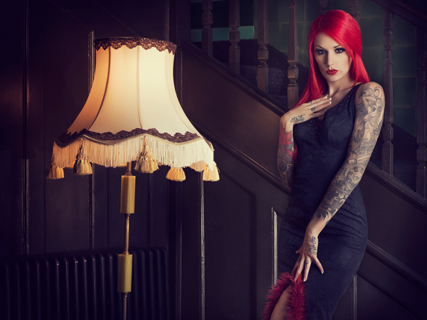 Cervena Fox for Royal Black Couture / Photography by Julian M Kilsby / Uploaded 26th May 2013 @ 04:14 PM